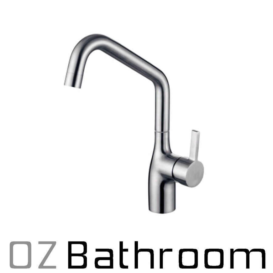 LEAD FREE 304 STAINLESS short STEEL kitchen sink tap mixer ...