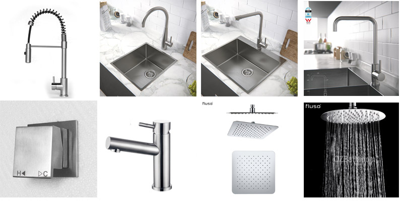 Lead Free Stainless steel Taps and mixers