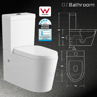 Wall faced / Close Coupled Toilet Suite 002