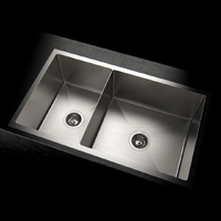 1.5mm Stainless Steel Kitchen Sink 803L*450W*220D/ Lead free