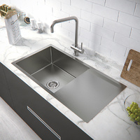 Stainless Steel Kitchen Sink 920L*450W*220D / Lead free