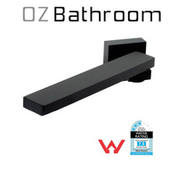 Matt Black Solid Brass Bathroom Water Tap