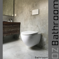 Wall Hung Concealed Cistern Toilet Suite 545*370*300