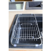 Stainless Steel Extendable Basket