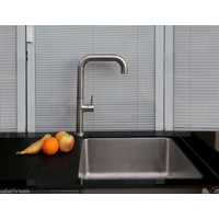 Swivel Stainless Steel Kitchen Tap A-62C / Lead-free