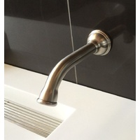 Stainless Steel Wall Mound Spout / Lead-free IN & OUT