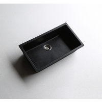 Black Granite / Quartz Stone Kitchen Sink 790*460*195