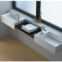 500*300*150 SOLID SURFACE HAND WASH BASIN Vanity Wall Hung