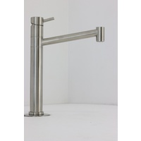 Swivel Stainless Steel Kitchen Tap 8013A  / Lead-free IN & OUT