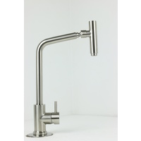 Swivel Stainless Steel Kitchen Tap 8016 / Lead-free IN & OUT