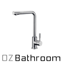 SOLID BRUSHED STAINLESS STEEL kitchen sink mixer Watermark TAP FAUCET LEAD FREE
