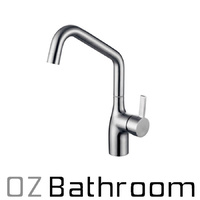 LEAD FREE 304 STAINLESS short STEEL kitchen sink tap mixer Watermark WELS