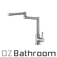 LEAD FREE kitchen mixer tap faucet Brushed 304 STAINLESS STEEL WELS Watermark