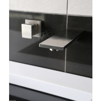 Stainless Steel Square Water Tap with Mixer / Lead-free IN & OUT