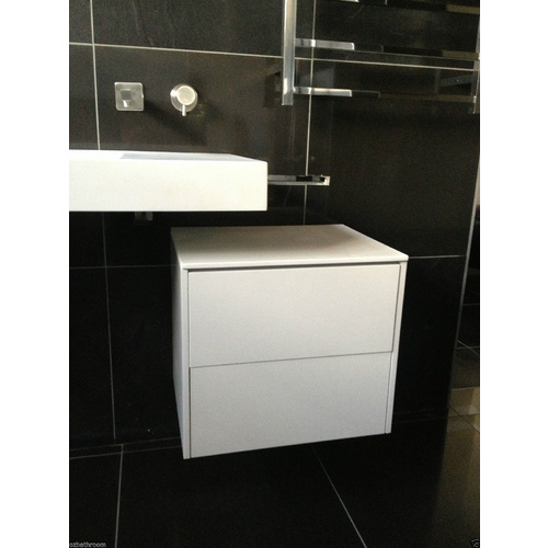 Wall Hung Push Open Double Drawer 430*550*480