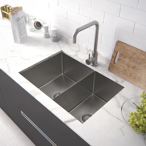 1.5mm Stainless Steel Kitchen Sink 690*450*220 / Lead-free IN & OUT