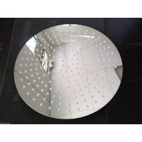400 Dia shower head/Stainless Steel/polished, lead free