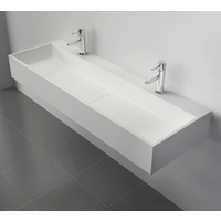 1200*400*150mm Solid Surface Basin for white bathroom