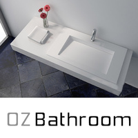 Quartz stone basin 900x450mm JZ1034