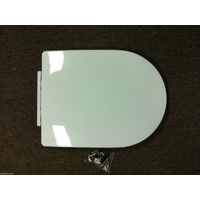 Toilet seat/PP/355mm*450mm*40mm/WHITE