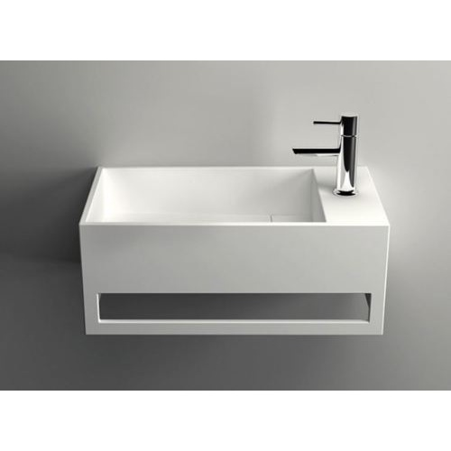 500*300*200 Solid Surface Basin for white bathroom